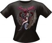 T-Shirt Lady BIKER Girlie PARTY Shirt Spruch witzig Fun