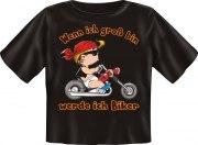 T-Shirt Baby Biker Motorrad Kinder Shirt Kids Spruch witzig Fun
