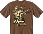 T-Shirt ALPEN MACHO Hirsch