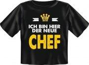 T-Shirt Baby DER NEUE CHEF