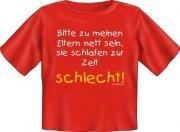 T-Shirt Baby ELTERN SCHLAFEN SCHLECHT