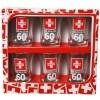 Schnapsglas 60. Geburtstag 6 Stück Medizin Schnapsgläser