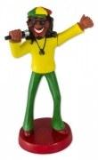 Wackel Puppe Figur Rasta Man