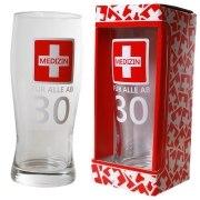 Bierglas Medizin ab 30 Weizenglas 30 Jahre Geburtstag Geschenk