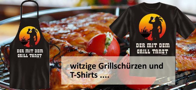 """Witzige Grillschürzen für den """"Master of Grill"""""""