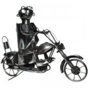 Flaschenhalter Motorrad CHOPPER Metall Flaschenständer Bike Geschenk Halter Flasche