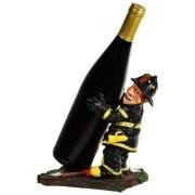 Feuerwehrmann als Flaschenhalter Feuerwehr Flaschenständer
