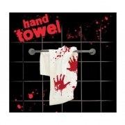 Blutbad Handtuch blutig Grusel Schocker Bad Horror