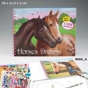 Horses Dreams Malbuch Depesche Pferde Fohlen malen
