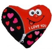 Herzkissen I love you Herz Kissen 23cm Liebe Spandex