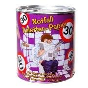 Toilettenpapier 30. Geburtstag in Dose WC Klopapier 30 Jahre Geschenk