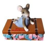 Spardose Mäuse Urlaub Koffer Geld Geburtstag Sparbüchse