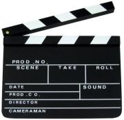 10x Regieklappe Filmklappe Holzklappe 27x30 cm