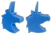 Schwamm Einhorn blau waschen Figurenschwamm Reinigungsschwamm