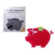 Geldgeschenk Schweinchen Geschenkverpackung Geburtstag Geld Geschenk
