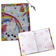 Tagebuch Einhorn Notizbuch Unicorn Notizzettel Memo