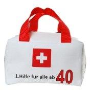 Tasche 1. Hilfe für alle ab 40 Geldgeschenk 40. Geburtstag