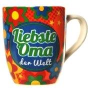 Tasse LIEBSTE OMA DER WELT Kaffeetasse Kaffeebecher